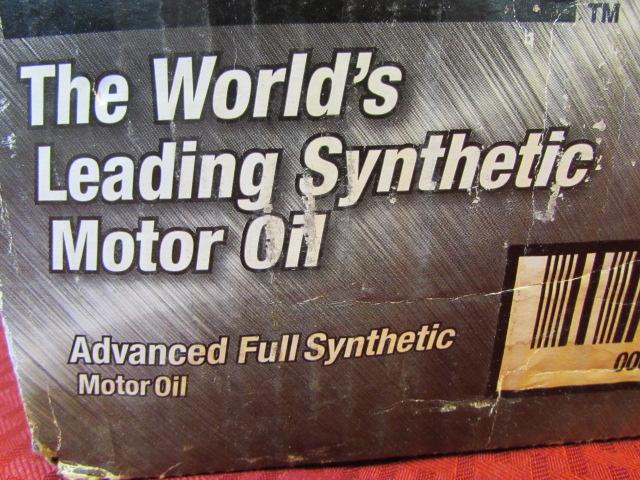 Lot Detail Full Case Of Mobil 1 5w 30 Motor Oil