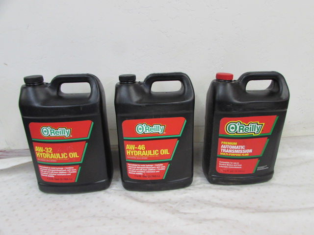 Lot Detail - THREE CASES OF HYDRAULIC OIL & TRANSMISSION FLUID
