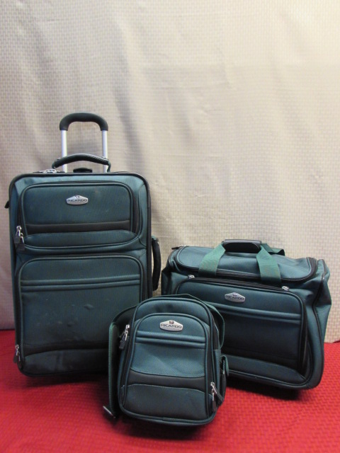 Lot Detail - TRAVEL IN STYLE - 3 PIECE RICARDO BEVERLY HILLS LUGGAGE SET ea447373cf143