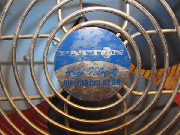 Patton High Velocity Air Circulator : Lot detail whatever blows your hair back patton high