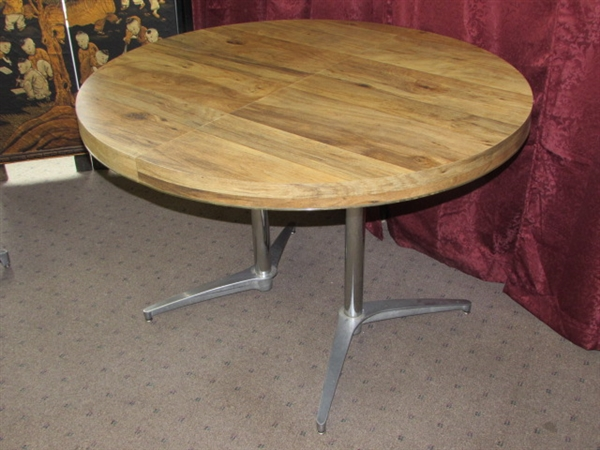 Lot Detail Cool 1950 S Retro Kitchen Table With Four