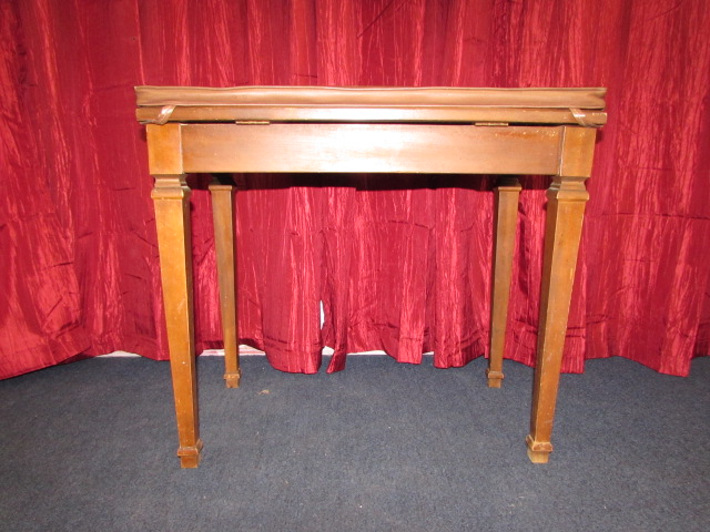 Lot detail vintage solid wood piano bench with removable