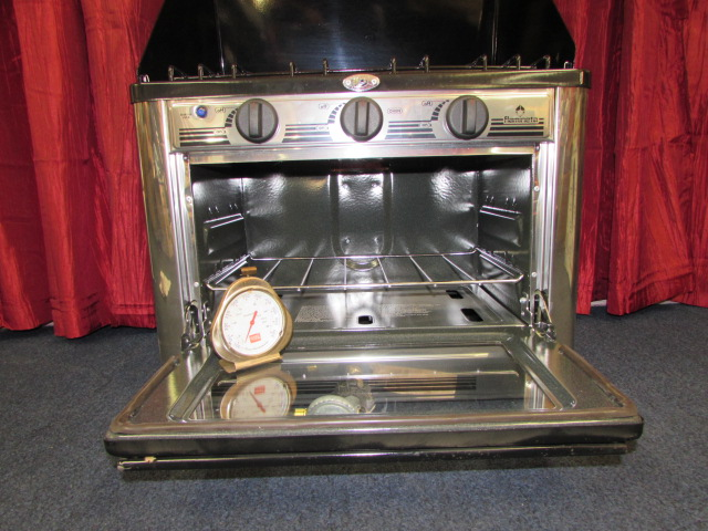 Lot Detail - OUTBACK GOURMET PROPANE CAMP STOVE WITH OVEN & MORE