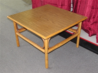 ATTRACTIVE BAMBOO STYLE SIDE TABLE