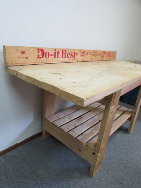 Lot Detail Big Boy 39 S Work Bench With Built In Extras