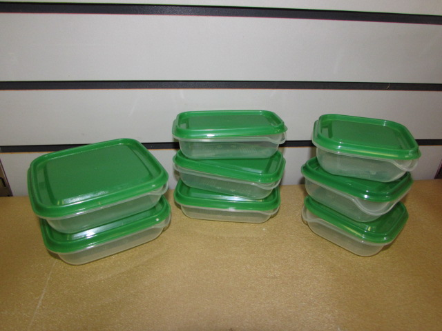 Lot Detail LARGE ASSORTMENT OF STORAGE CONTAINERS TUPPERWARE