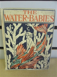 "ANTIQUE, 1899 BOOK ""THE WATER-BABIES"" BY CHARLES KINGSLEY, A FAIRY TALE NOT TO BE BELIEVED EVEN IF IT IS TRUE!"