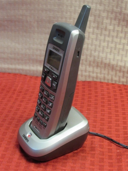uniden 5 8 ghz cordless phone with answering machine