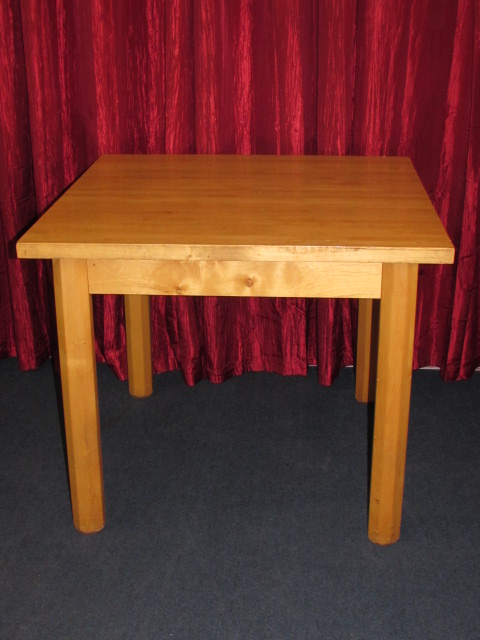 Butcher Block Wood Kitchen Table : Lot Detail - GREAT SOLID WOOD BUTCHER BLOCK TABLE FOR YOUR KITCHEN, CRAFT ROOM, PLAY ROOM OR
