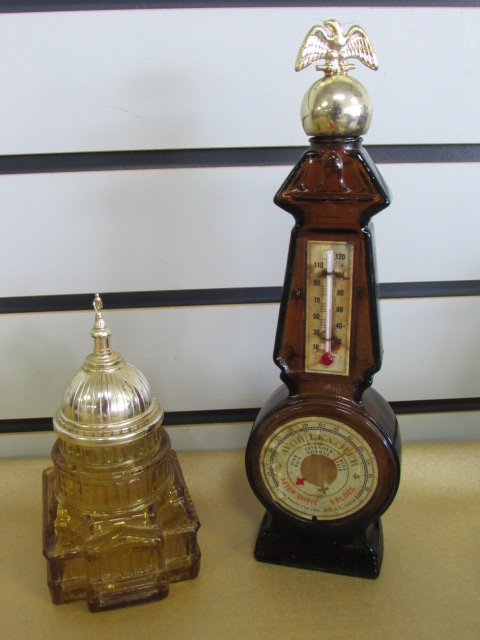 VINTAGE AVON PERFUME & COLOGNE BOTTLES! OLD TIME CARS, GRANDFATHER CLOCK,  ...