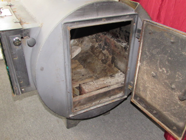 Lot Detail Nice Fireview Wood Burning Stove With Dayton