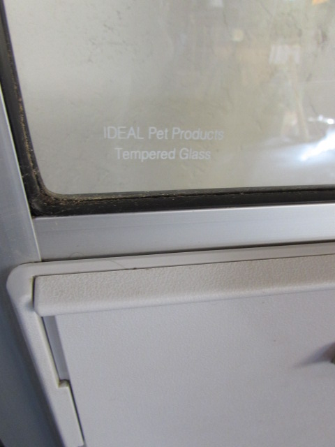 ... Ideal Pet Products Fast Fit Patio Pet Door ...