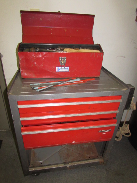 craftsman tool chest on wheels lots of room for your tools plus all american tool