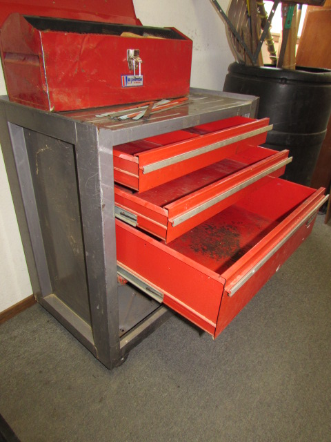 Lot Detail Craftsman Tool Chest On Wheels Lots Of Room