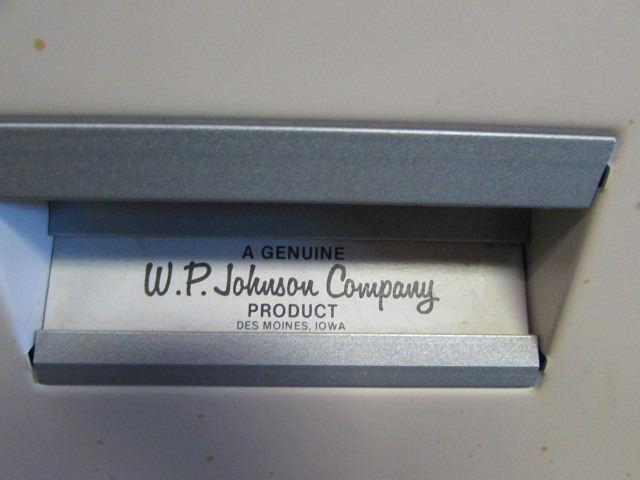 Lot Detail - TWO NICE W.P. JOHNSON CO. METAL 2 DRAWER FILE ...