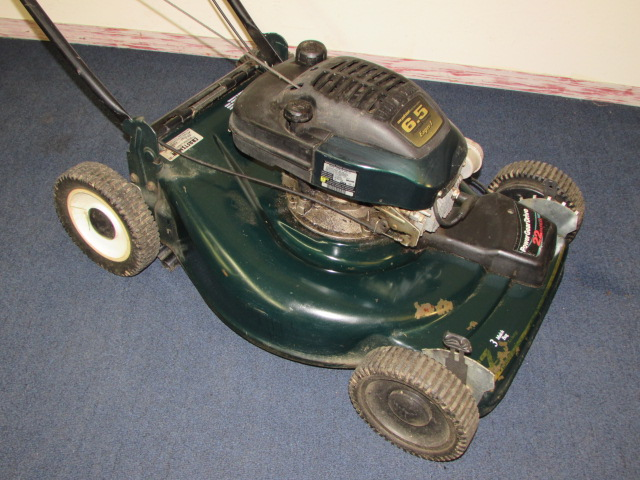 Lot Detail Craftsman 6 5 Hp Eager 1 Gas Lawn Mower