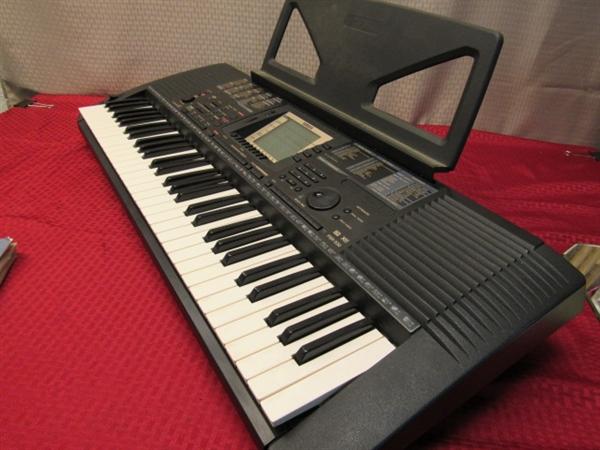 yamaha portatone electronic keyboard manual