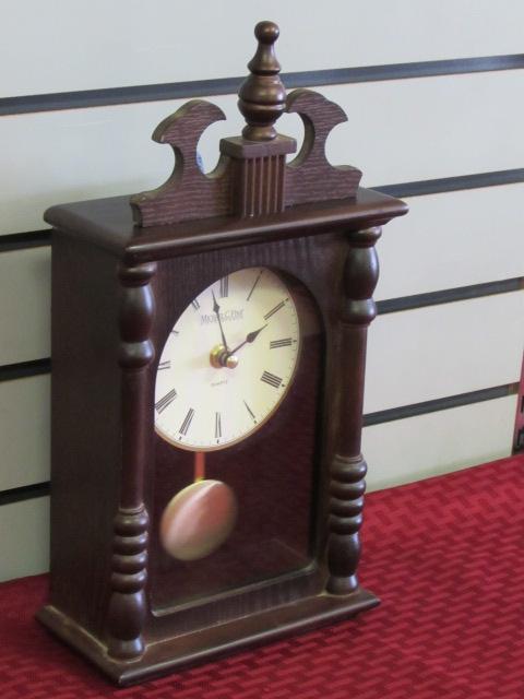 Lot Detail Pretty Michael C Fina Fifth Avenue Quartz Clock