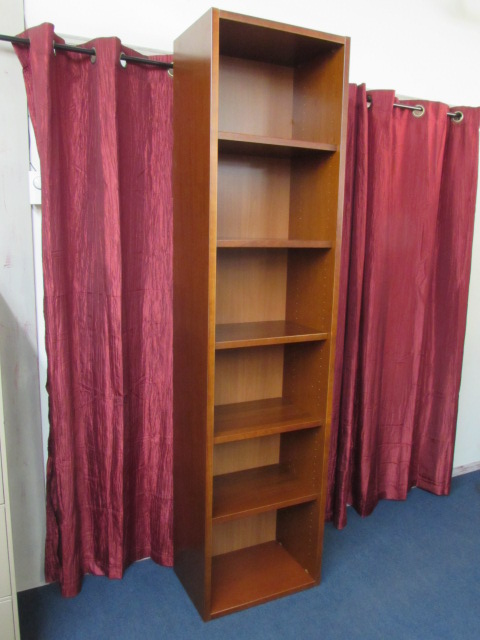 Lot Detail Super Tall Very Nice Bookshelf With