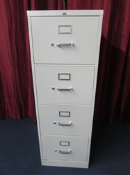 NICE FOUR DRAWER LEGAL SIZE FILE CABINET