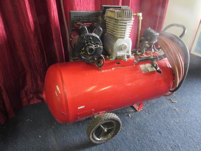 Lot Detail Sears Craftsman 220 Volt Air Compressor
