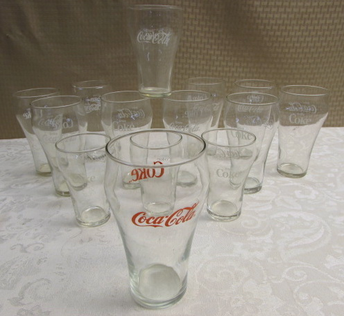 Vintage Coke Glasses 36