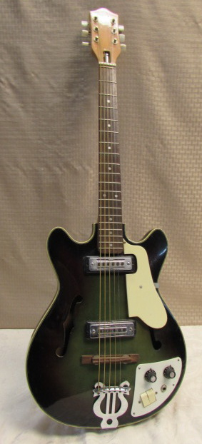 lot detail teisco del ray ep7 vintage electric guitar. Black Bedroom Furniture Sets. Home Design Ideas