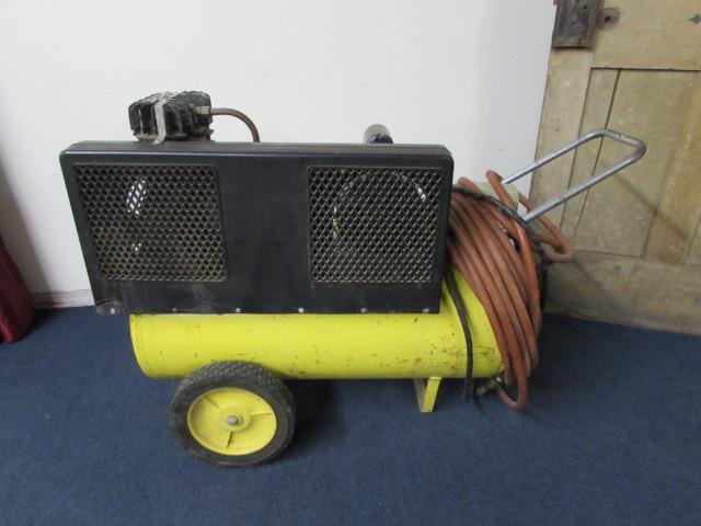 John Deere Air Compressor >> Lot Detail John Deere A100 Portable Air Compressor