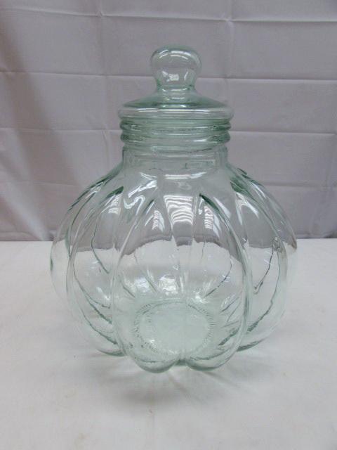 Large Decorative Glass Jars Endearing Lot Detail  Beautiful Extra Large Decorative Glass Jar With Lid Design Inspiration
