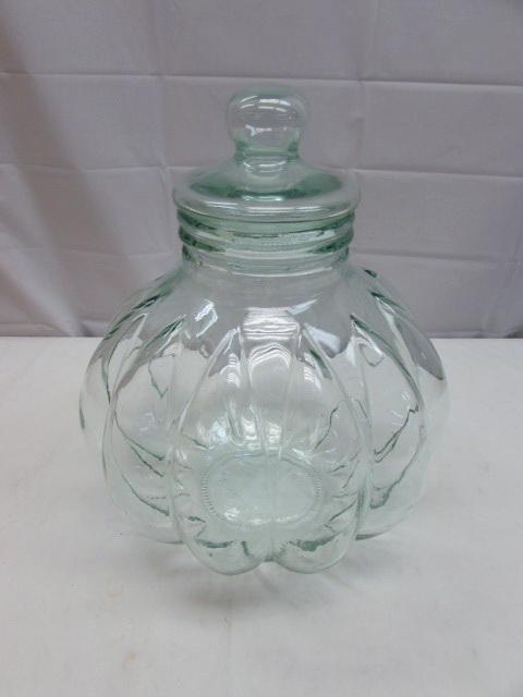 Large Decorative Glass Jars Adorable Lot Detail  Beautiful Extra Large Decorative Glass Jar With Lid Inspiration Design