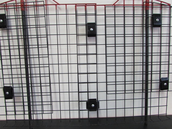 Lot Detail Kennel Aire Vehicle Pet Barrier