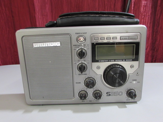 Grundig Radio s350 Manual