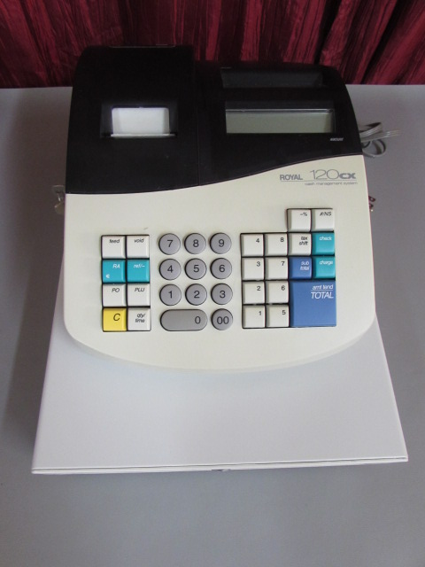 royal 120dx cash register manual