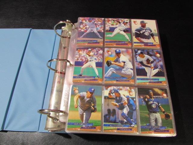 Lot Detail 1993 Fleer Ultra Baseball Card Set In Binder