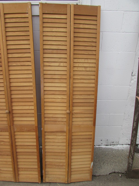 ... LOUVERED CLOSET DOORS *LOCATED OFF SITE #1*