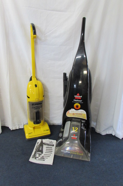 Lot Detail Bissell Pro Heat Carpet Shampooer Amp Eureka