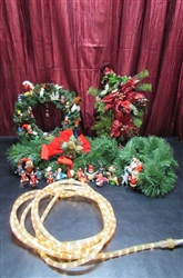 GARLAND, WREATH, SWAG & ROPE LIGHT