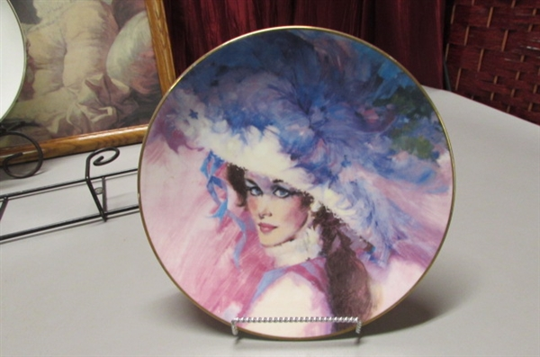COLLECTABLE PLATES AND PLATE HOLDERS