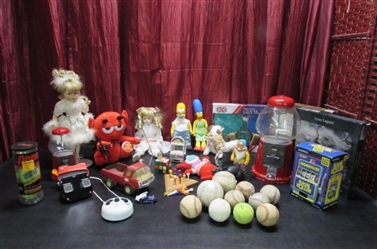 VINTAGE AND OTHER TOYS