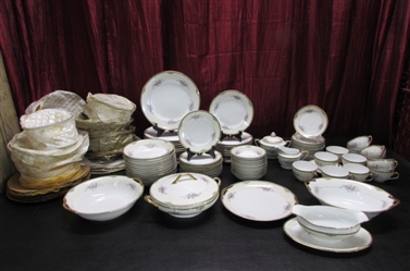 "NORITAKE ""FAIRFAX"" CHINA SET"