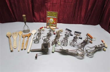 VINTAGE HAND MIXERS AND MORE