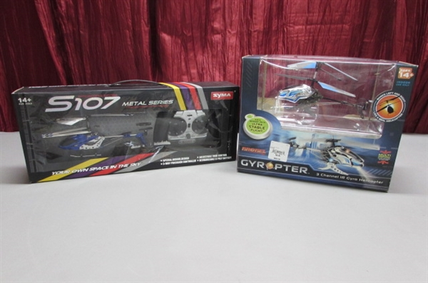 MINI RC HELICOPTERS