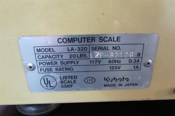 COMPUTER SCALE
