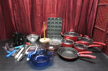 GUY FIERI POTS & PANS & KITCHEN GADGETS