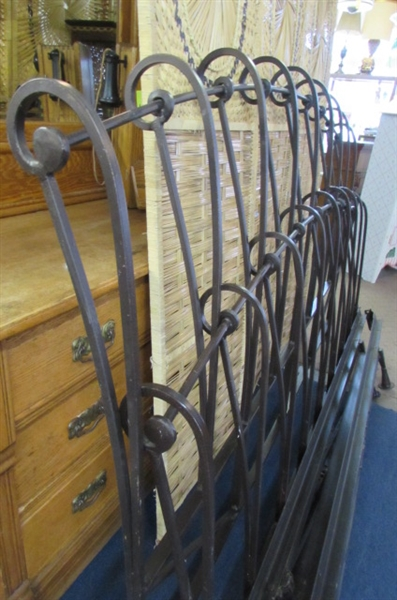 CALIFORNIA KING - WROUGHT IRON BED FRAME