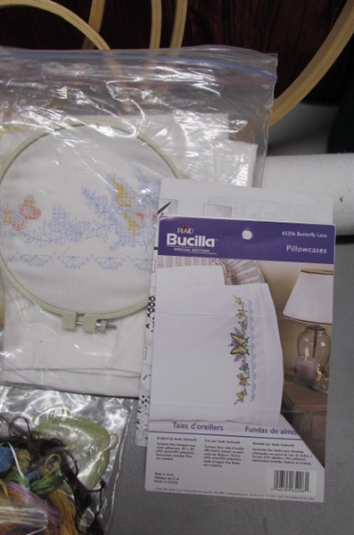 COUNTED CROSS STITCH & NEEDLEWORK SUPPLIES