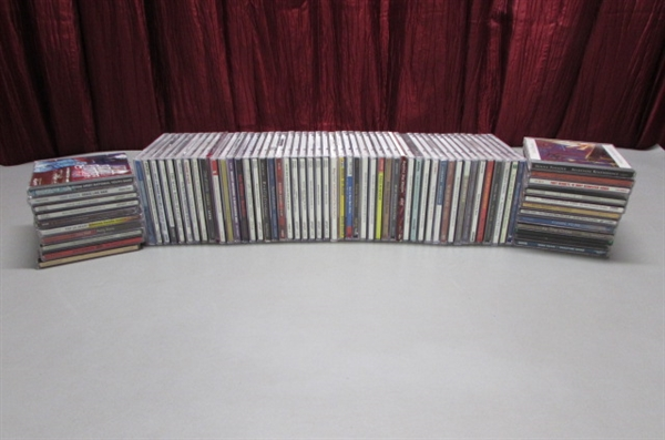 LARGE LOT OF MUSIC CD'S