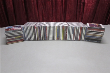 LARGE LOT OF MUSIC CDS