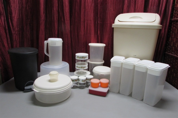 CANISTERS & KITCHEN STORAGE CONTAINERS