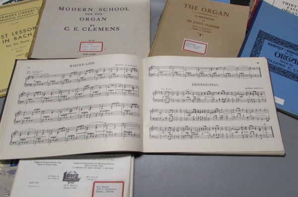 PIANO & ORGAN SHEET MUSIC